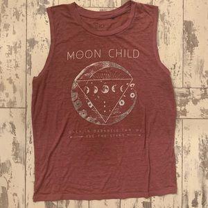 5/$25 Moon child tank top, medium